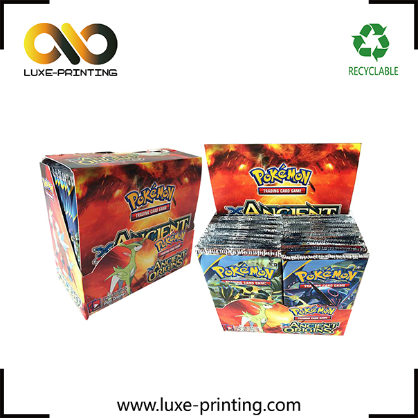 Hot selling pokemon ex cards mega factory 100 pcs pokemon card