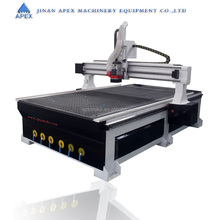 Trade assurance cnc router 1325 for panel door cutting wood machine
