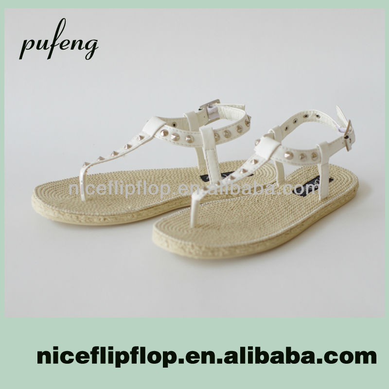 Hot Selling Fashion Flat Summer Sandals 2014 For Women
