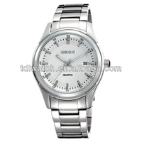 2014 hot sale classic japan mov't stainless steel watch