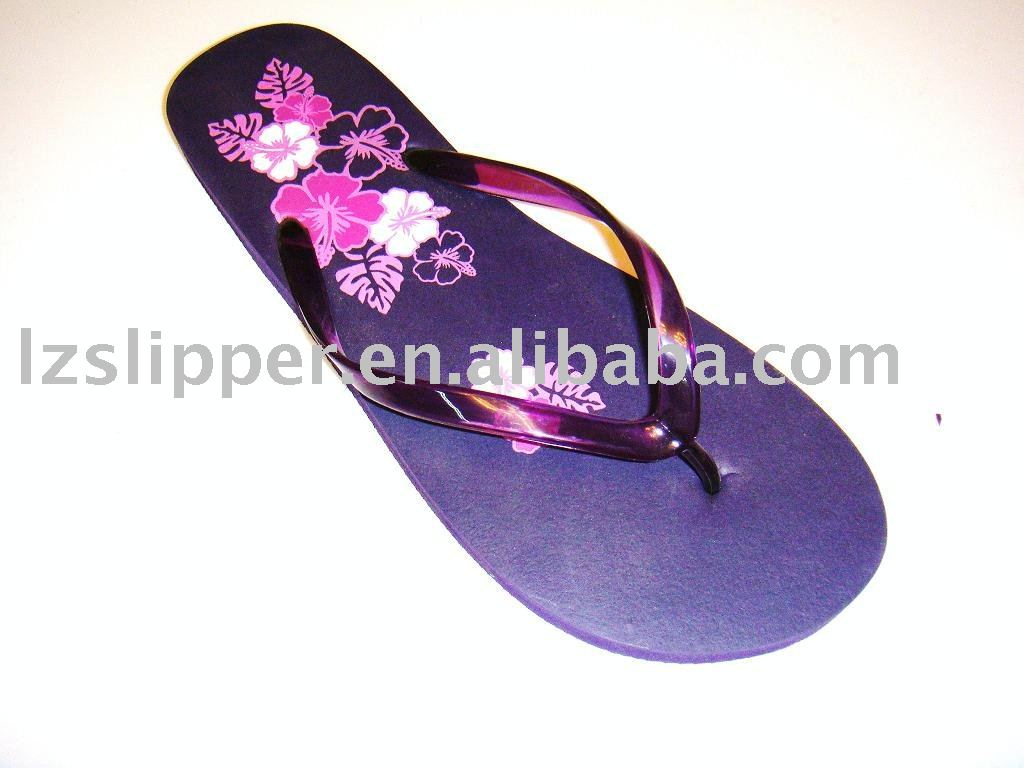 2010 new design fashion pe slipper