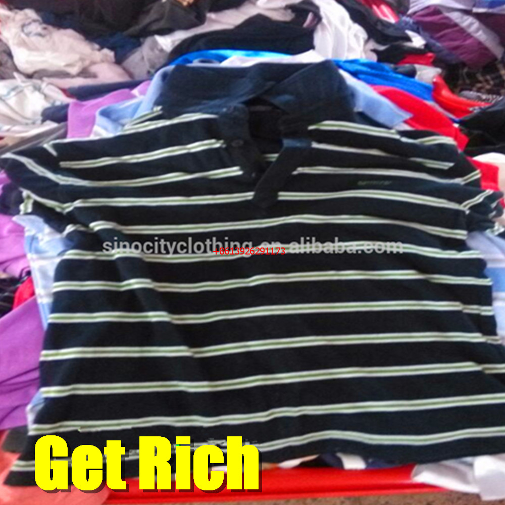 women and men t shirts used outlet clothes uk