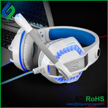 Noise Cancelling vibration gaming headphones manufactured in China