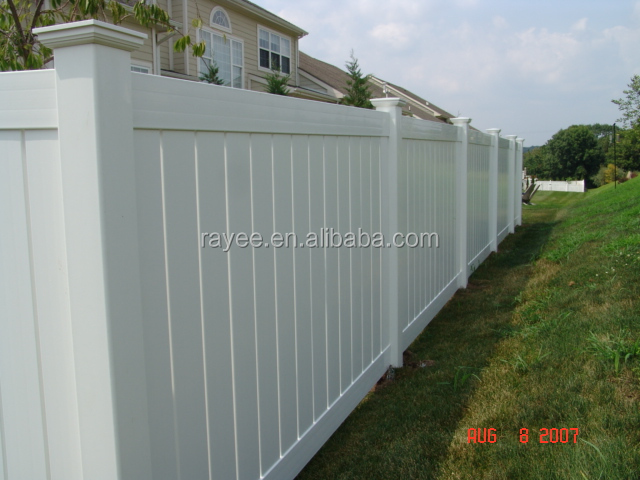 high quality and cheap price vinyl 8'x6' pvc fence panel for sale, pvc fence cheap/blanco cerca de vinilo,de carbone fatbike