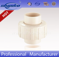 ASTM D2846 CPVC Pipe Fittings CPVC Union for Hot Water
