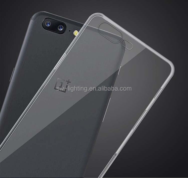 Cheapest high quality transparent soft clear tpu silicon phone cover case for one plus one / 3 /3T /5