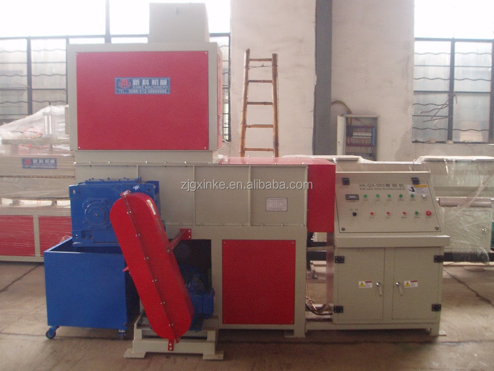 waste Plastic film pellets pipe Shredder shredding machine