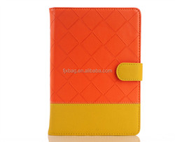 Customized Pu leather stand cover flip smart case for ipad 2 3 4
