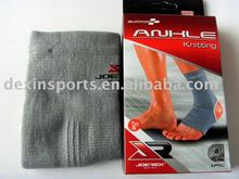 knitting ankle support