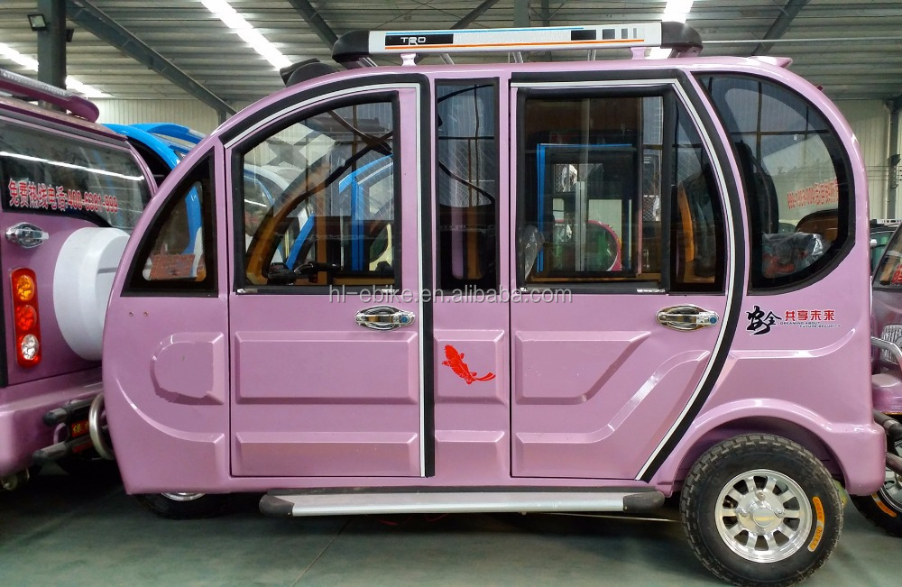 2016 new model of the fully enclosed electric tricycles/rickshaws/tuk tuk/bajaj/cyclomotor/voiture/motorcycles 21000021