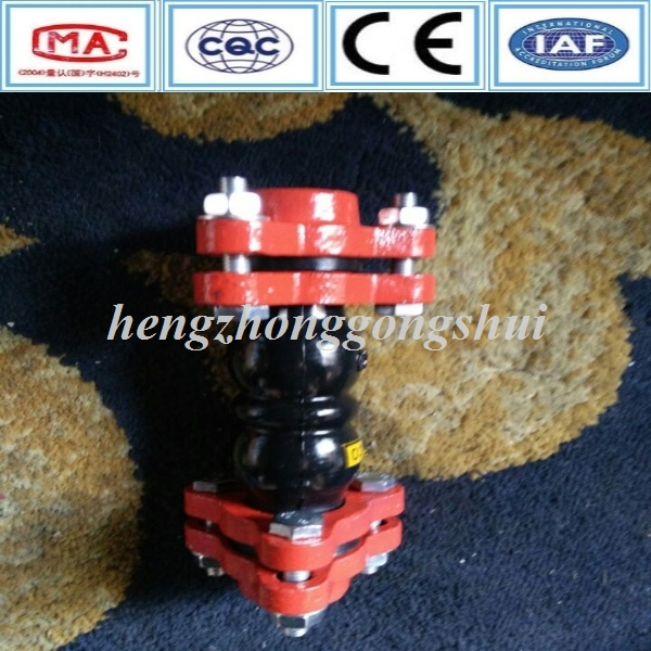 Triangle type hypalon expansion rubber joint DN50 expansion bellows joints