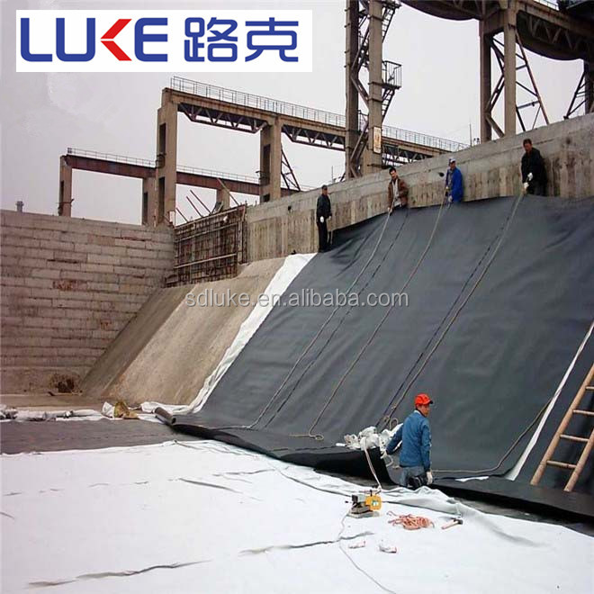HDPE Material with textured surface geomembrane for Garbage Landfill