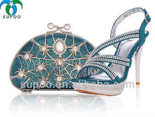 Wholesale Italian Matching Shoe and Bag Set for Party TSB999