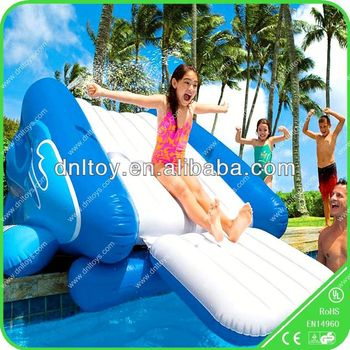 New hot sale cheap inflatable slides inflatable pool for Cheap inflatable pool