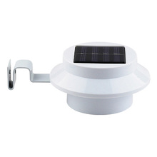 3LED IP44 solar panel led solar gutter/fence light (YH0415)