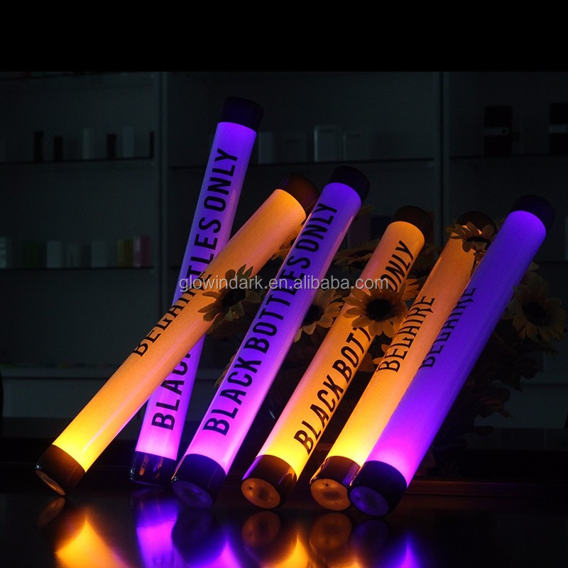 halloween Luminous Led Foam Sticks Light Up Wands Rally Rave Party Concert foam thunder sticks with led light
