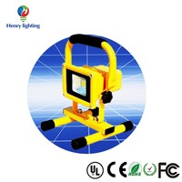 stage lighting natural white 3 head led floodlight motion sensor portable led floodlight