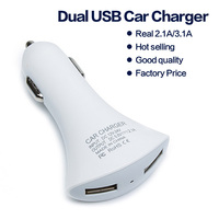 5V 2.1A / 3.1A dual usb car charger