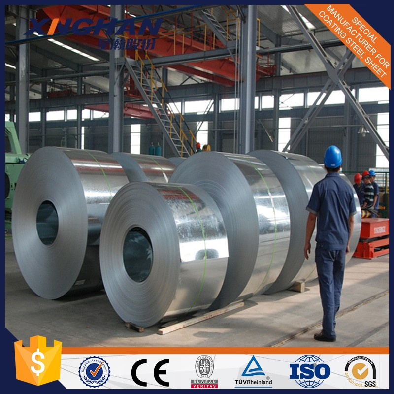 Dx51d z275 Hot Dipped Galvanized Steel Coil / Sheet / Plate