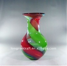 Cheap colored murano art glass vase