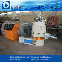 Recycling plastic agglomerator