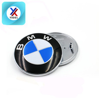 82MM 74MM ABS Car Emblem Logo For BMWS Front Rear Logo