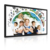 42 inch interactive whiteboard smart tv for class