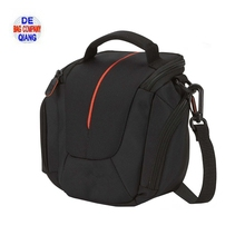 Fashion Black Waterproof Soft Unique SLR Digital Camera Bag