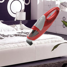 Battery powered portable mini rechargeable cordless vacuum