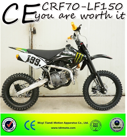 Hot sell CE good quality oil cooled 150cc gas pit bike