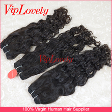 wholesale Unprocessed virgin hair hot selling Italian curly hair weft hair extension wholesale/retail