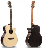 Aiersi High Quality OM style Laminated Acoustic folk guitar