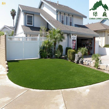 Popular Natural Green Fake Grass Artificial Turf Dried grass