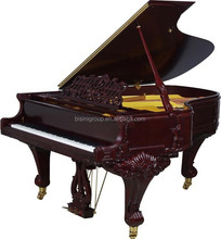Bisini 88 keys Mechanism Grand Piano European Carved Grand Piano (BF09-15230)
