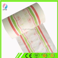 pe film rolls for baby diaper