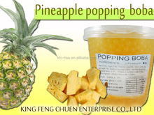 3.2KG bubble tea pineapple popping boba