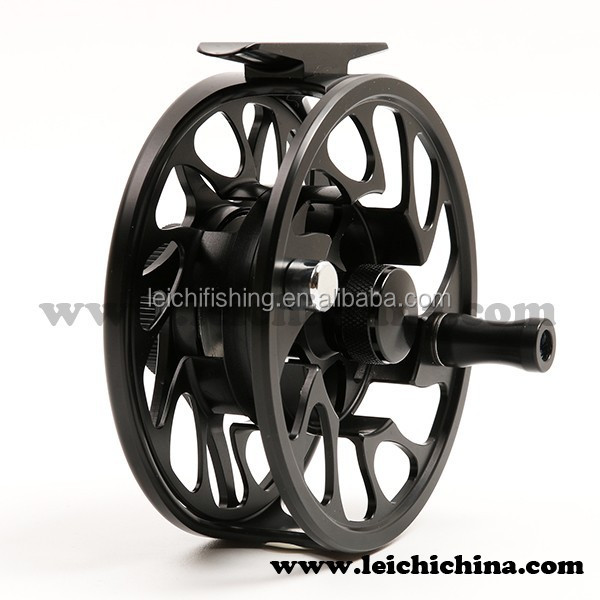 Fishing cnc machined salmon fly reel