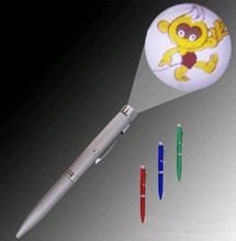 High quality Led projector pen , Metal Pen With Customize Logo