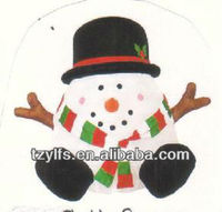 Airblown inflatable snowman toy /Christmas outdoor decoration/pop up product