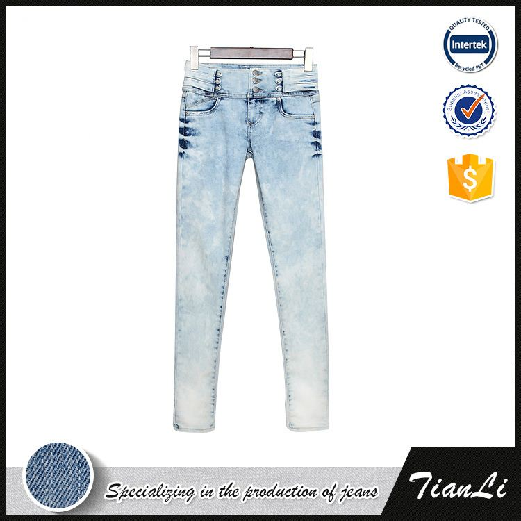 Pencil Skinny Jeans Woman Fashion High Waist Jeans Stretch Pencil Pants Women Jeans Lady Pants