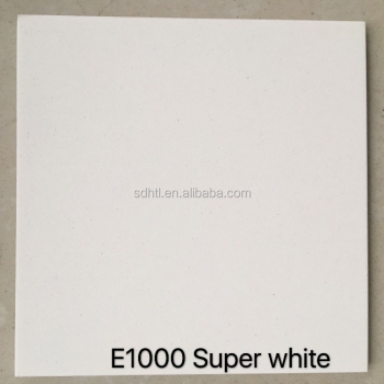 Pure white quartz stone slabs colors for kitchen countertops