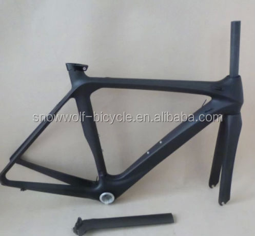 2014 New design fashionable carbon frame for road bike