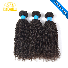 KBL chinese hair vendors 100% kinky curly blonde hair weave,brazilian deep curly ombre hair weave,real color #51 remi hair weave