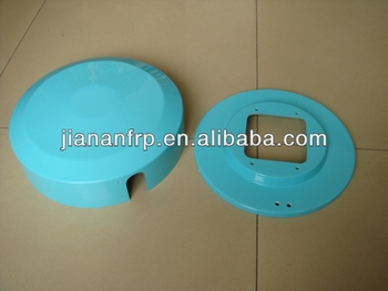 Sheet moulding compression SMC Part, can be customized from 150tons to 2000tons compression machines