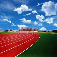 Recyclable EPDM granule rubber running track,synthetic athletic track