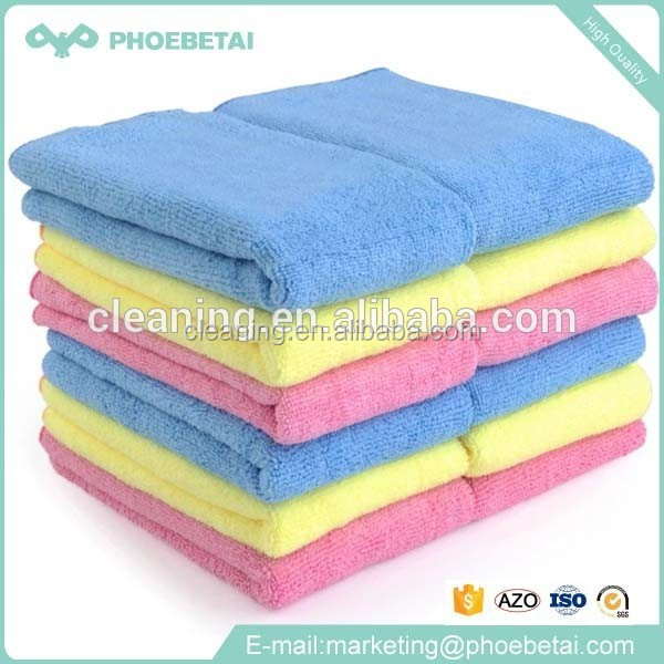 Wholesale disposable household items cleaning kitchen micro fiber cleaning cloth