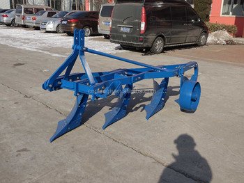 New type steel furrow plough with 3 blades