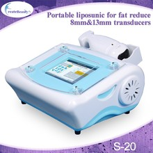 portable belly fat reducing ultrasound machine price for beauty salon and clinic used/ liposunic machinery equipment