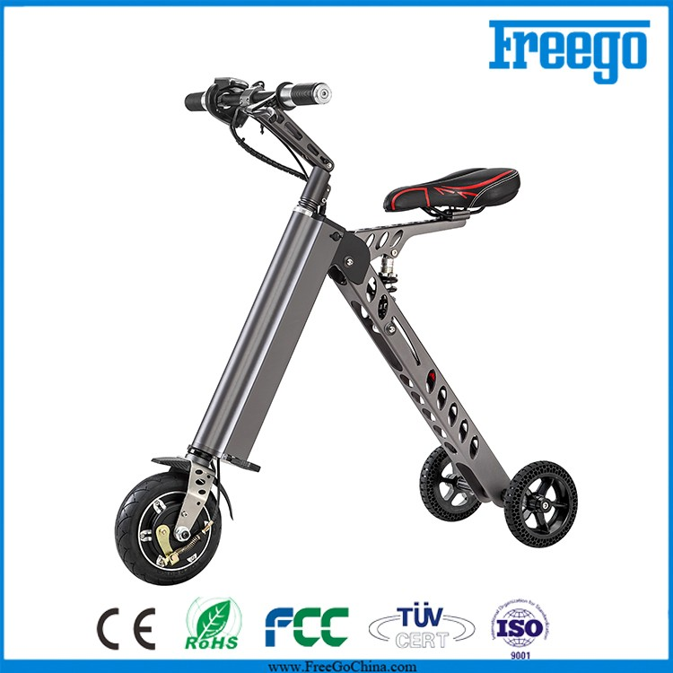 freego china folding bike three wheel electric scooter. Black Bedroom Furniture Sets. Home Design Ideas