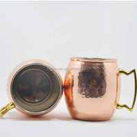 2015 New Products Stainless Steel Mule Copper Mug Beer Mug Cup